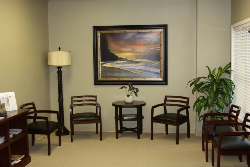 Hearing Aid Services Waiting Room